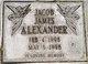 Jacob James Alexander