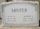 Ollie Gay <I>Hill</I> Minter