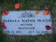 Barbara <I>Mathis</I> Prater