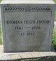 Thomas Hugh Frood
