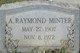 A Raymond Minter