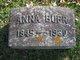 Profile photo:  Anna Burr
