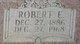 "Robert Edward ""Bob"" Lee"
