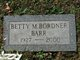 Profile photo:  Betty M <I>Bordner</I> Barr