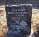 Raymond Hollingsworth Taylor