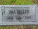 """Ora Estella """"Sisy"""" Keller"""