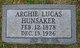 Archie Lucas Hunsaker