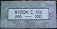 """Wilton Clyde """"Bill"""" Via"""