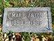 Profile photo:  Marie <I>Jones</I> Acton