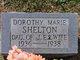 Dorothy Marie Shelton
