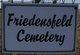 Friedensfeld Cemetery
