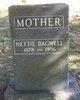 Nettie <I>Lemon</I> Bagwell