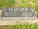 "Profile photo:  Esther Louisa ""Lou"" <I>Herndon</I> Burklund"