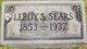 Leroy S Sears