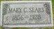 Mary Celestie <I>Taylor</I> Sears