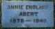 """Profile photo:  Ann Lucretia """"Nannie or Annie"""" <I>England</I> Abert"""