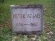 Profile photo:  Hettie Adams