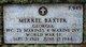"""Merrel """" """" <I> </I> Baxter,"""
