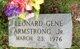 Profile photo:  Leonard Gene Armstrong, Jr.