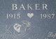 Profile photo:  Baker Axe