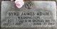 Profile photo: Sgt Byrl James Adair