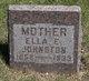 Ella Eliza <I>Wicks</I> Johnston