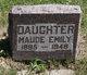 Maude Emily Johnston