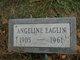 "Profile photo:  Angeline ""Angie"" <I>Taylor</I> Eaglin"