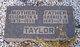 Elizabeth Gertrude <I>Frazier</I> Taylor