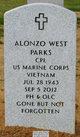 Profile photo: Corp Alonzo West Parks