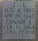 Fannie Elizabeth <I>Caldwell</I> Hoover