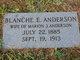 Blanche Ellen <I>McMillan</I> Anderson