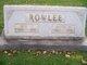 """Martha V. """"Mattie"""" <I>McLean</I> Rowlee"""
