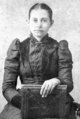 "Profile photo:  Martha Caroline ""Carrie"" <I>Dickinson</I> Etheredge"