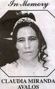 Profile photo:  Claudia Miranda Avalos