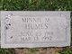 Minnie M. Humes