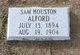 Profile photo:  Sam Houston Alford