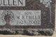 """Profile photo:  William Russell """"Bill"""" Bullen"""