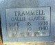 Callie Louise Trammell
