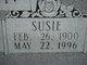 "Susan ""Susie"" <I>Henry</I> Buchanan"