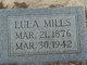 Lula V. <I>Parsley</I> Mills