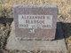 Alexander H Bledsoe