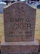 "Profile photo:  Mary Catherine ""Mother Acker"" <I>Oberhausen</I> Acker"
