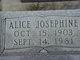 Alice Josephine Mills