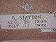 G Stayton Mills