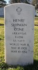 Profile photo:  Henry Shipman Cone
