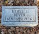 Profile photo:  Ethel E Bever