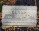 Elizabeth <I>Snider</I> Bever
