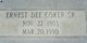 Ernest Dee Coker, Sr