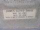 James Lloyd Davis